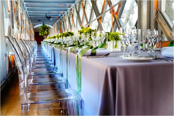 venue interior at tower bridge before party