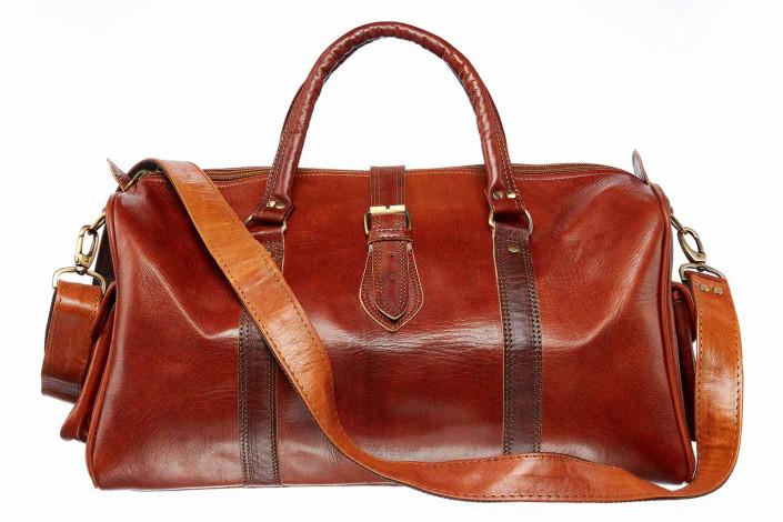 large bag against white for e-commerce