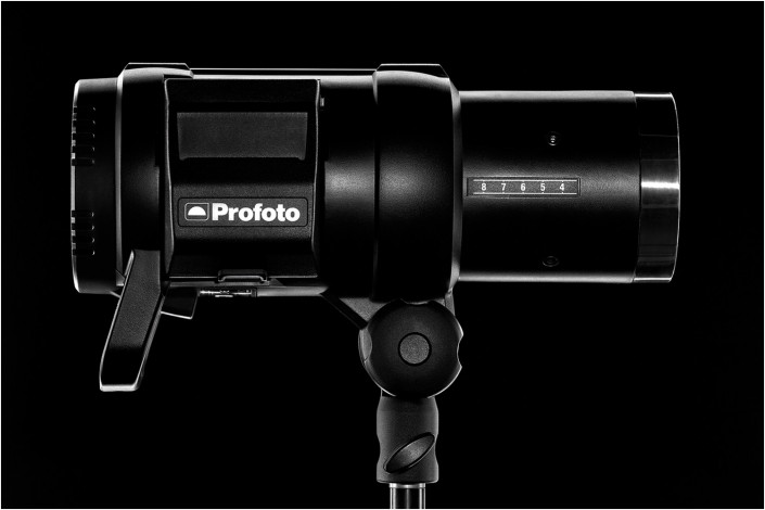 advertising image of profoto product