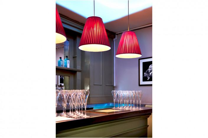 restaurant interior at bar