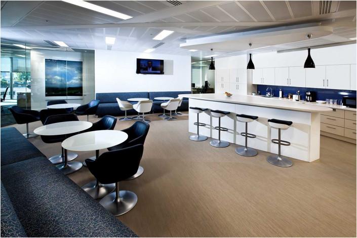 office kitchen interior photography