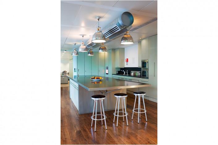kitchen area in office