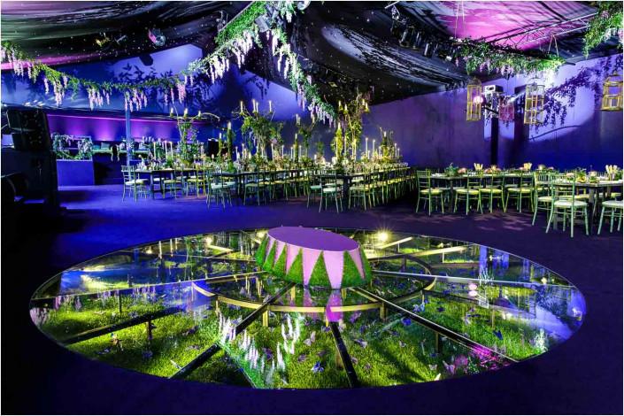 venue interior before party